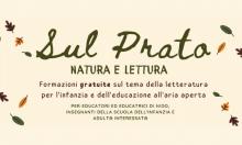 Formazione sul prato natura e lettura