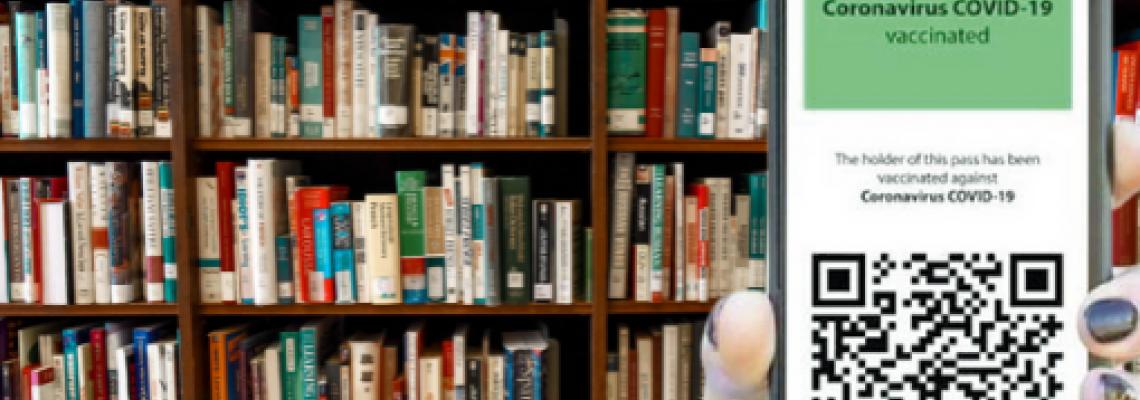 Accesso alla biblioteca con Green Pass